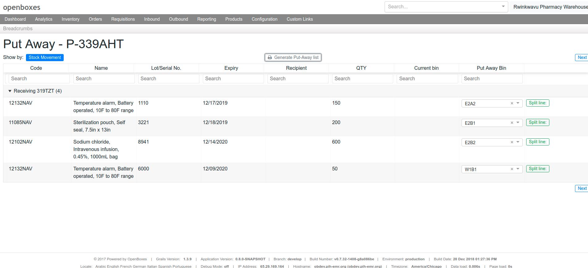 OpenBoxes 0.8.0 has been released